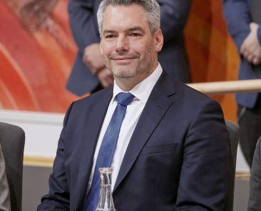 Innenminister Karl Nehammer (V)
